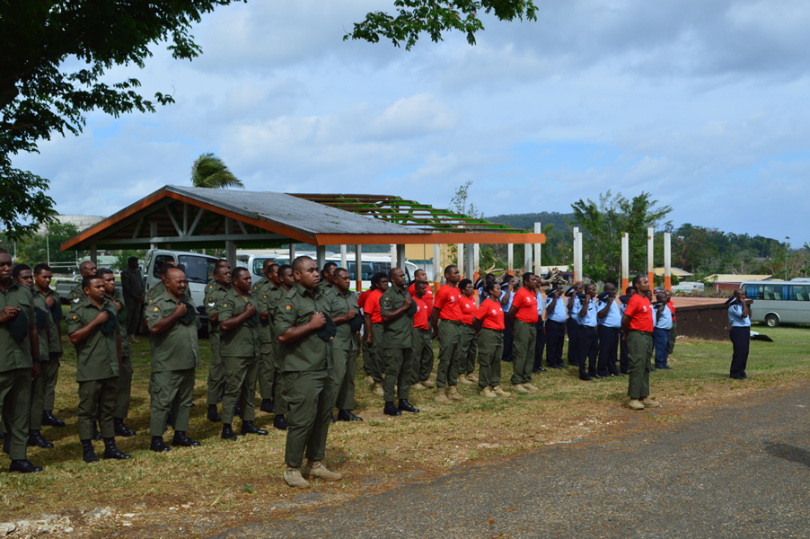 01 May 2015 - Tank Yu Parade - Post Cyclone PAM 50