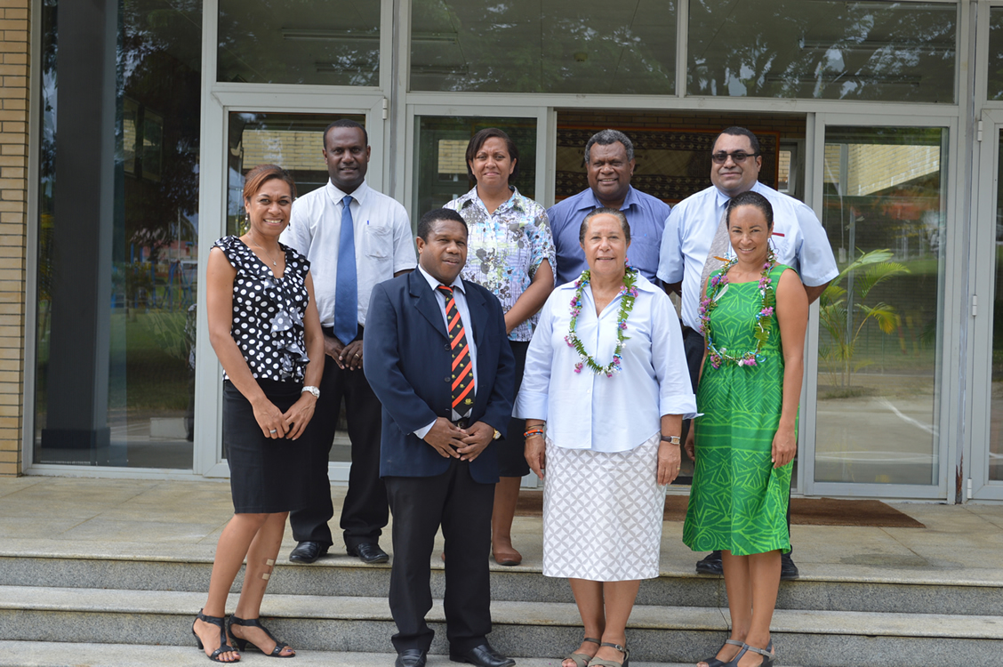 16 Feb 2015 - Dame Meg Taylor visits the MSG Secretariat 22