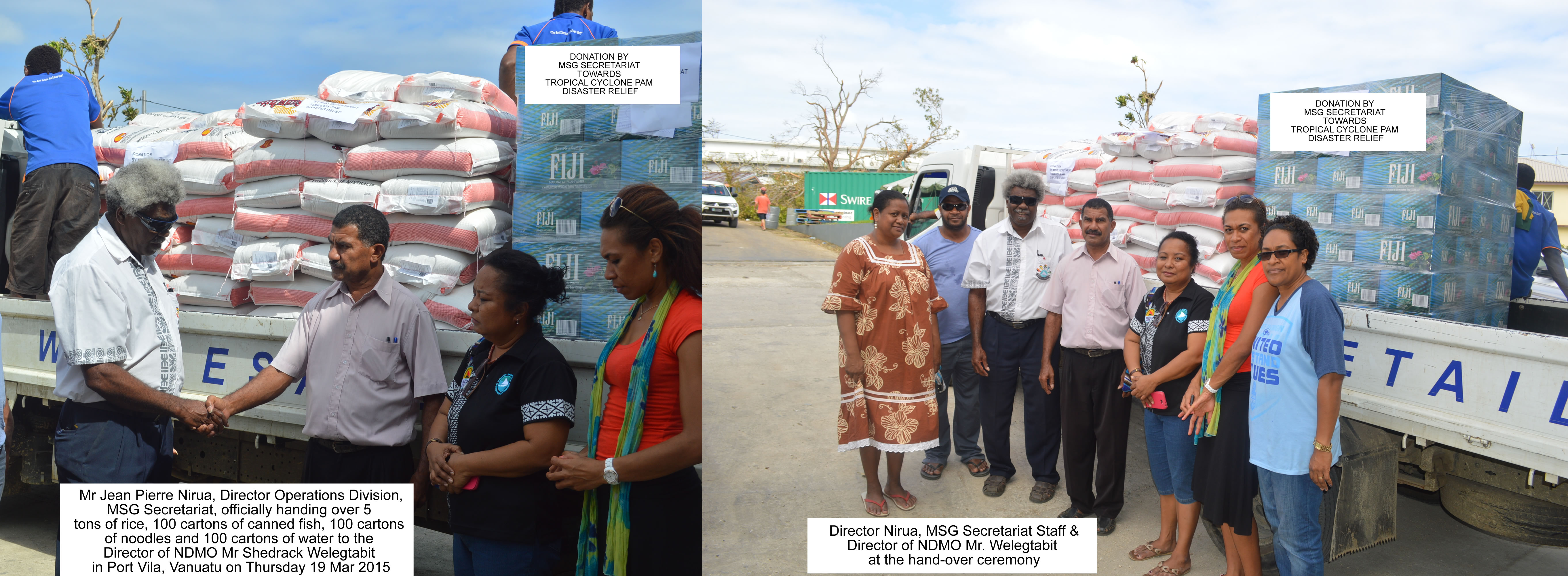 19 mar 2015 - cyclone pam disaster relief