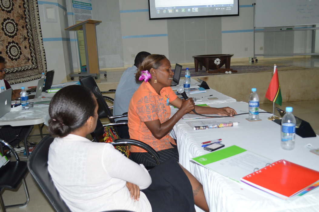 20 Apr 2015 - 10th SCLII Meeting in Port Vila 2