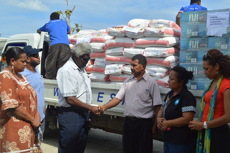 MSG Secretariat assists Vanuatu following tropical cylcone PAM